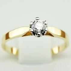Pierścionek Agua 0,24ct P0122TB - Biżuteria z brylantami - AIMOR
