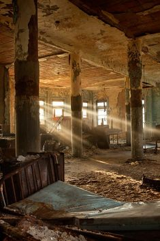 The ward. Pennhurst State School and Hospital, East Vincent, Pennsylvania.