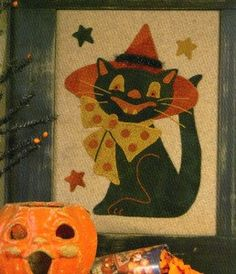 PATTERN Vintage style HALLOWEEN Fast and by DorothyPrudieFabrics