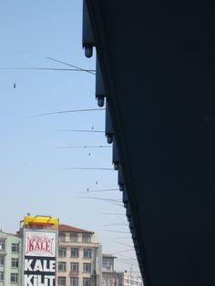 Fishing Galata bridge