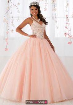 Fiesta 56371 Beaded Princess Ball Gown - Ball Gown Dresses Source by karlitaorellanacruz - Sweet 16 Dresses Gold, Sweet Sixteen Dresses, The Dress, Pink Dress, Light Pink Quinceanera Dresses, Paris Rosa, Debutante Dresses, Forever21, Princess Ball Gowns