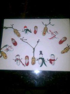 Maníes navideños