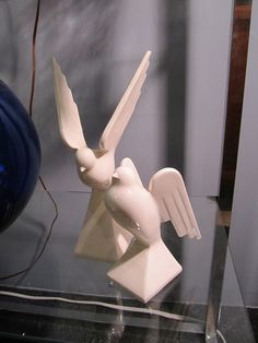 beautiful doves porcelain figurine collectibles