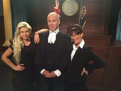 The two woman in judge Rinders life finally meet! Michelle will be voting, make sure you do too! BBC Strictly Come Dancing 9pm tonight, don't miss it! #teamrinder #chachacha - via fb