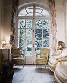 Pauline de Rothschild's Curtains : News, Culture + Travel : Architectural Digest