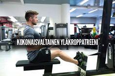 Kokonaisvaltainen yläkroppatreeni (VIDEO) | Tommi Jalomäki