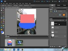Layers in Photoshop Elements
