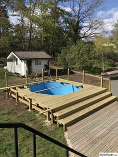 Above Ground Swimming Pools, Swimming Pools Backyard, In Ground Pools, Decks Around Pools, Pool Deck Plans, Best Above Ground Pool, Outside Pool, Stock Tank Pool, Outdoor Spa