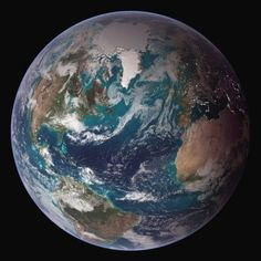 NASA has shown us views of the Big Marble, the breathtakingly beautiful planet on which we live because it studies space and the Earth. The first Big Blue Marble photo was released in 1972 and each… Urban Survival, Wilderness Survival, Survival Prepping, Survival Skills, Sistema Solar, Our Planet, Planet Earth, Cosmos, Image Cloud