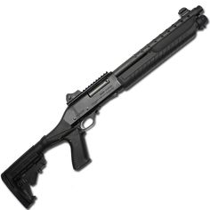 Fabarm Martial with Pro Forces 4 position stock and spring assist pump. Pump Action Shotgun, Weapons Guns, New Hobbies, Firearms, Martial, Hand Guns, Army, Pumps, Pew Pew