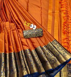 Buy Designer Sarees Online, Cotton Silk, Kara, Indian Fashion, Fabric Design, Detail, Stuff To Buy, Ship, Blouse