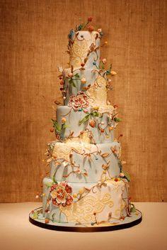 a fairy tale cake.  Custom Cakes