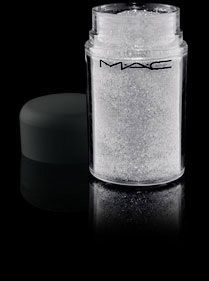 Reflects Pearl by MAC.  Gorgeous sparkly pigment.  I apply my shadow, then dab some Too Faced Glitter Insurance adhesive over the eyeshadow, and then dab some of this over it to add some extra sparkle to any eye look.