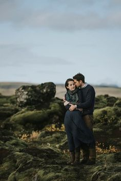 Breathtaking Iceland Engagement by M2 Photography