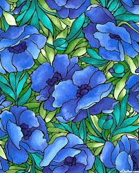 Image result for stained glass poppy printable