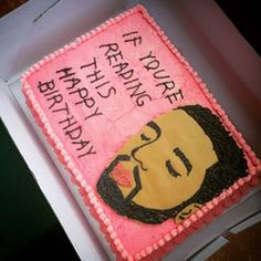 THOSE LASHES. | 29 Incredible Cakes For The Drake Fan In All Of Us