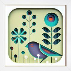 Folkloric sparrow