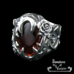 Blood Crystal Ring