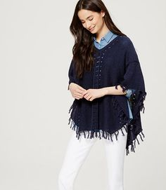 This poncho would be a good piece for my spring work wardrobe.