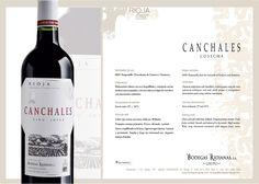 #Canchales #Tinto #Joven. #wine #rioja #bodegasriojanas