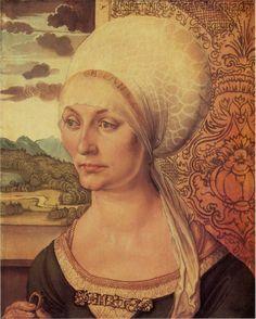 Albrecht Dürer Portrait of Elsbeth Tucher: 1499