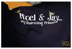 """M'cel & Jay..my charming princes"""