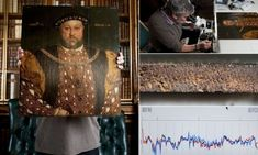 A painting of Henry VIII thought to be the last before his death has been uncovered in Wiltshire.