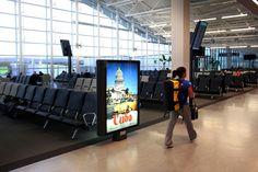 Quebec Airport / Aéroport de Québec - Cuba #Airport #Aeroport #Furniture #AstralOutOfHome #AstralAffichage #Publicite #Advertising #Ads #Billboard #PanneauAffichage #YQB #Quebec