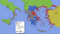 History: Peloponnesian War Decided in Sicily, Not Greece - History and Headlines Draw On Photos, Cover Photos, Athens And Sparta, Hellenistic Period, Historical Maps, Ancient Greece, History Books, Ancient History, Greek History