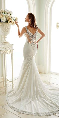 Utterly Gorgeous New Bridal Gowns By Sophia Tolli ❤ See more: http://www.weddingforward.com/bridal-gowns/ #weddings