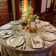 Vintage Wedding Table Setting & vintage wedding table | Celebrations | Pinterest | Wedding tables ...