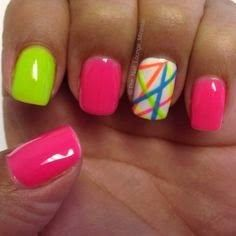 colorful nail art ideas for summer 2015