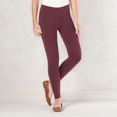 Women's LC Lauren Conrad Solid Leggings, Size: