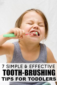When we first brought our daughter home from the hospital, I knew things wouldn't always be easy, but I never anticipated I'd struggle with something as simple as getting a toothbrush into her mouth. Thankfully, I've come up with 7 easy and effective tooth-brushing tips for toddlers and our tooth-brushing struggles are a thing of the path. I highly recommend #s 2 and 4, but please do not try #5!