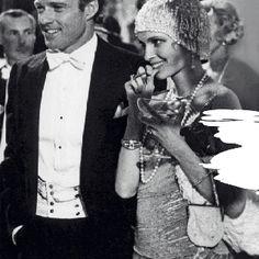Robert Redford & Mia Farrow in the Great Gatsby (1974) inspired Ralph Lauren S/S.