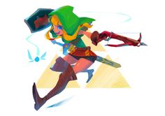 Linkle(Legend of Zelda) for CDC by oseoro