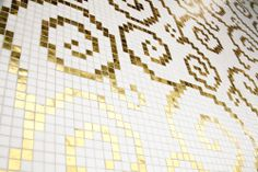 "#Mosaic: #Wallpaper #Luxurious 1 (2 x 2 cm ∙ 3/4"" x 3/4"")"