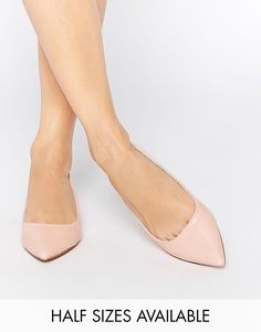 Image 1 ofASOS LOST Pointed Ballet Flats