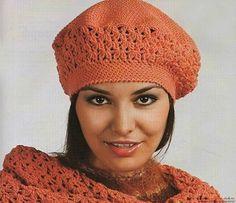Вязание беретки спицами — лучший вариант для неопытных рукодельниц. Обсуждение на LiveInternet - Российский Сервис Онлайн-Дневников