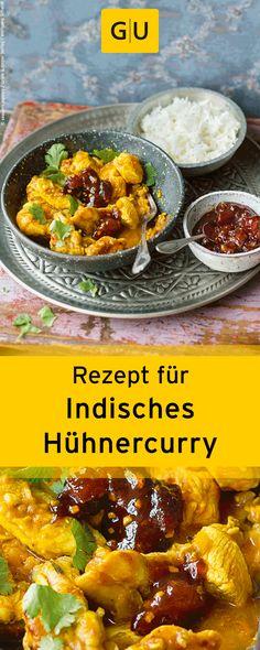 """Rezept für indisches Hühnercurry aus dem Buch """"Indisch kochen"""".⎜GU"""