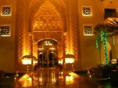 Jumeirah Zabeel Saray Main Entrance ahead of Christmas Dubai http://www.dubaichronicle.com/category/life/travel/