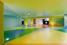 craig & karl: colorful underground car park in sydney