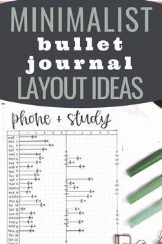 MINIMALIST BULLET JOURNAL LAYOUT IDEAS TO MAKE YOUR LIFE EASIER BY INCREASING YOUR EVERYDAY ORGANIZATION AND PRODUCTIVITY! Click to read more. Minimalist Bullet Journal Layout, Monthly Bullet Journal Layout, Bullet Journal Mood Tracker Ideas, Bullet Journal For Beginners, Bullet Journal Printables, Bullet Journal How To Start A, Bullet Journal Themes, Bullet Journal Inspiration, Journal Ideas