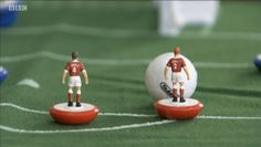 Subbuteo Figures featured on BBC's 'The One Show'