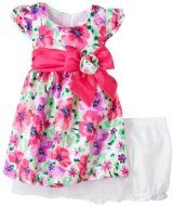 Amazon.com: Young Hearts Baby-Girls 2 Piece Purple Infant Girls Woven Dress And Panty Set: Clothing