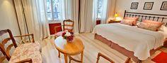 Villa Isidro Hotel Boutique & Spa > Suite 9: Habitación Doble Categoría Superior  / / / 10 habitaciones de categoría, de diferentes dimensiones y decoración, equipadas con la última tecnología y confort. Cada unidad es un espacio de relax con personalidad propia.  - San Isidro, Buenos Aires -.