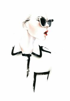 On our radar: Antonio Soares: Chanel S/S 2013 Fashion illustration