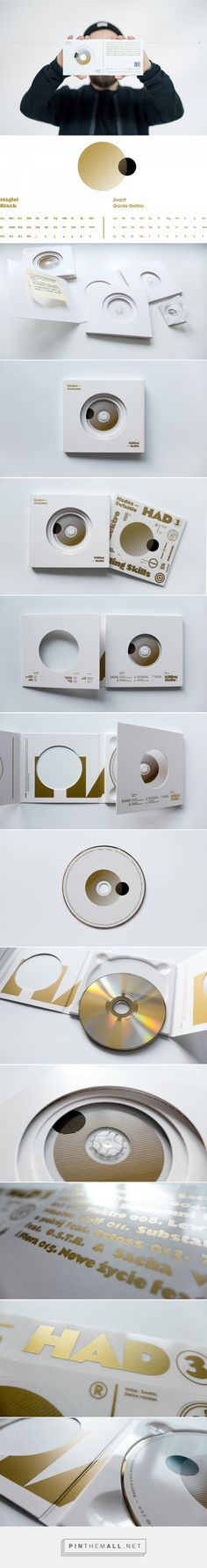 Hades - Świattło CD album design by OsomStudios - http://www.packagingoftheworld.com/2017/02/hades-swiatto-cd-packaging.html