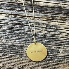 50% of the net proceeds of our Be The Change necklace go to Food for the Hungry's work for supporting female entrepreneurs all over the world.
