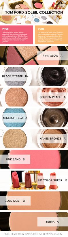 Round-up: Tom Ford Soleil Collection Overview & Thoughts